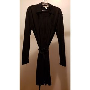 DIANE VON FURSTENBURG Black Wrap Dress size 8